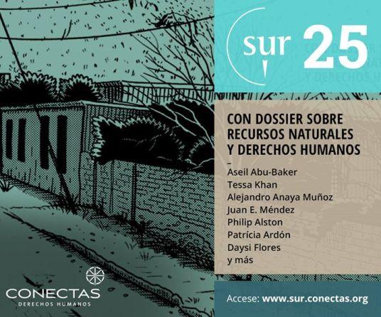 Revista SUR – Internacional de Direitos Humanos publica online e com acesso gratuito seu nº 25